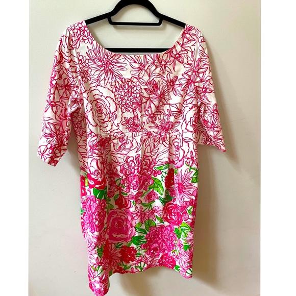 Lilly Pulitzer 3/4 Sleeve Dress
